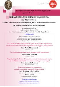 convegno mediazione 6 maggio 2016